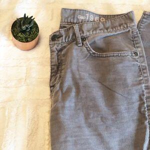 Gap   corduroy sexy boyfriend pants • 26R